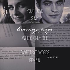 Turning Page - Edward and Bella