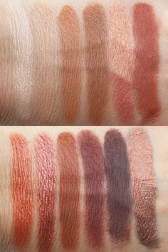 UD Naked Heat swatches from VampyVarnish