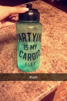 Partying is my cardio. #TSM