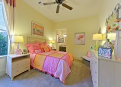 Adorable #girlsbedroom by Darling Homes. #design