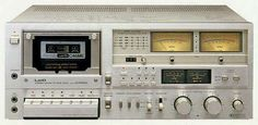 Vintage audio Tape Deck cassette player