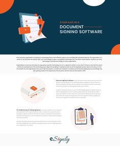 Organizations must know why they are deploying a specific technology, be it an e-signature solution or any other. Online Signature, Digital Signature, Business Organization, Organizations, Software, Technology, Tech, Organizing Clutter, Tecnologia