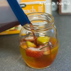 Kiddie Sangria - Use white grape juice in place of white wine. She ...