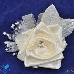Fabric Rose Corsage