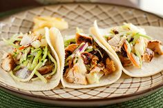 Chipotle Grilled Chicken Tacos