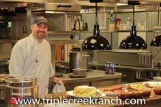 Chef, Tony is back with a special BBQ in the Lodge dining room at Triple Creek Ranch.