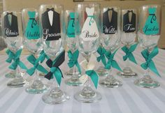 Mint blue teal black white personalized name over by Customforless