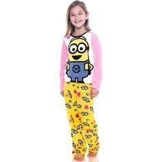 Despicable Me Little Girls' Fleece Pajama Set