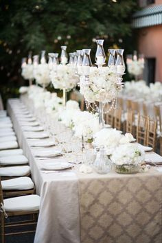 There's nothing more romantic than an al fresco Italian wedding table: http://www.stylemepretty.com/destination-weddings/italy-weddings/2014/04/03/american-scottish-destination-wedding-in-tuscany/ | Photography: Magnus Bogucki - http://magnusbogucki.com/