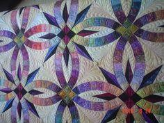 www.myquilter.blogspot.com: Bali Wedding Star quilt