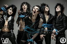 Black Veil Brides - yesh, they're all coming home with me >:D