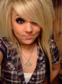 Strange 1000 Images About Emo Girl Hair On Pinterest Emo Short Hairstyles Gunalazisus