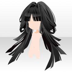 Anime Hair Anime Girl Hairstyles, Cute Hairstyles, Pelo Anime, Chibi Hair, Manga Hair, Kawaii Chibi, Hair Reference, Star Girl, How To Draw Hair