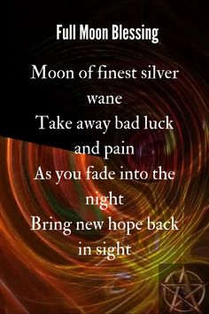 Moon Quotes Discover Full Moon Blessing A blessing for the full moon