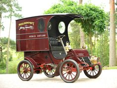1904 Cadillac Model A Delivery Van