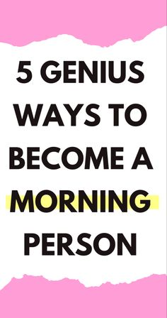 These helpful tips will show you how to wake up early in the morning! Whether you're looking to wake up at or get up early for school, these morning hacks will help you find the motivation you need! Morning Routines, Morning Habits, Soul On Fire, Positive Vibes Only, Getting Up Early, Time Management Tips, Productivity Hacks, Self Development, Personal Development