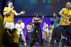 Michelle Obama dancing the Interlude!