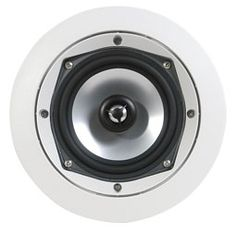 "SpeakerCraft CRS 5.5R 5.25"" In-Ceiling Loudspeaker - Each (White) at World Wide"