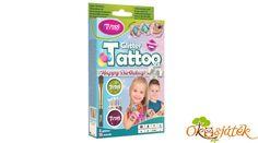 Mivel a szettbe padlizsán lila és fűzöld csillámpor került, így ez a tetoválókészlet jó fiúknak és lányoknak egyaránt, és nem csak a színek miatt, hanem a sablonok miatt is ötletes ajándék. A Tytoo tartós, vízálló tetoválások akár 18 napig bírják a gyűrődést, de babaolajjal bármikor leszedhetőek. A részletes használati utasítás segítségével a gyermek lépésről lépésre láthatja és utánozhatja a tetoválás elkészítésének menetét. Szülői felügyelet mellet már 3 éves kortól is használható. Lany, Happy Birthday, Personal Care, Happy Brithday, Urari La Multi Ani, Personal Hygiene, Happy Birthday Funny, Happy B Day, Happy Birth