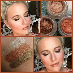 OMG! Does this color combo not just scream fall?!?  Bring on the hoodies and pumpkin spice everything! ☕️ Who loves cream shadows? www.youniquebyshannonrenea.com