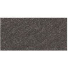 Galvano Charcoal Glazed Porcelain Indoor/Outdoor Floor Tile (Common: 12-in x 24-in; Actual: 11.85-in x 23.85-in)