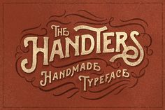 Handters typeface by ilhamherry on Creative Market
