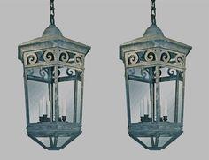 Copper Lantern, Pendant Light Fixtures, Lanterns, Pendants, Ceiling Lights, Home Decor, Pendant Lights, Homemade Home Decor, Trailers