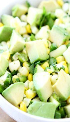 Zucchini - Goodies I adore - Avocado Salsa Healthy Eating Recipes, Mexican Food Recipes, Cooking Recipes, Healthy Eats, Zucchini Salsa, Zucchini Appetizers, Salsa Recipe, Fruits And Veggies, Vegetables