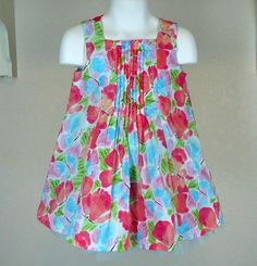 Gymboree Crazy 8 Sister Matching Dress Sz 2 Girls Watercolor Butterfly #Crazy8 #CasualParty