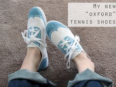 Shoe Coloring DIY