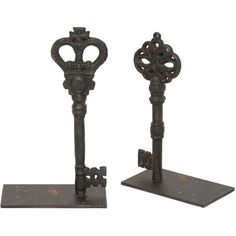 I pinned this 2 Piece Keys Bookend Set from the Look: Elegant event at Joss and Main!