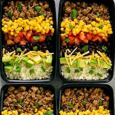 100 Best Meal Prep Recipes #mealprep #healthyrecipes #healthyeating #lunch #recipes Veggie Meal Prep, Chicken Meal Prep, Meal Prep Bowls, Healthy Meal Prep, Healthy Eating, Clean Recipes, Veggie Recipes, Paleo Recipes, Lunch Recipes