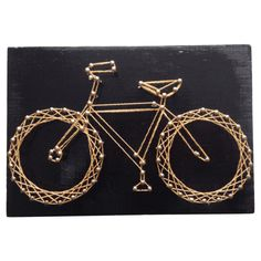Bicycle Nail + String Art #huntersalley