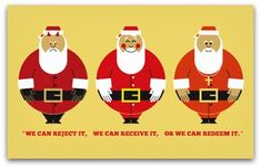 Great article about teaching children about Santa. Really like this approach.