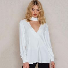Sexy Lace Hollow Out Cross Back Shirts Women Deep V-neck Long Sleeve Backless Solid White Female Buttons Blouses
