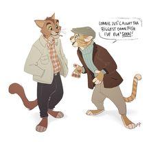 The british me :v Cat Furry, Furry Art, Cat Character, Fantasy Character Design, Character Design Inspiration, Anthro Cat, Anthro Furry, Animal Sketches, Ocelot