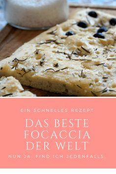 The best focaccia in the world: delicious bread recipe - .- The best focaccia in the world: delicious bread recipe – …, Sandwiches, Pasta Recipes, Bread Recipes, Vegetable Recipes, Vegetarian Recipes, Cake Vegan, Tasty Bread Recipe, Recipe Recipe, Grilled Bread