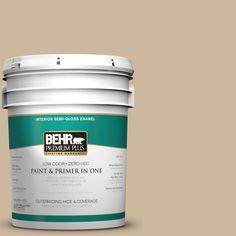 BEHR Premium Plus 5-gal. #bxc-80 Wildwood Semi-Gloss Enamel Interior Paint