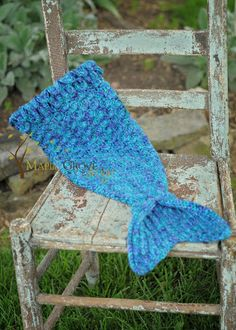 The Merry Mermaid Infant Cocoon free pattern!