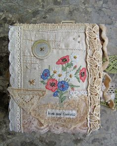 Fabric Book   Flickr - Photo Sharing!