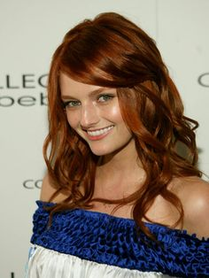 I <3  this hair color. I wish I could have it