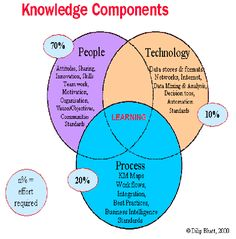 Knowledge Management Components and Sub-elements (Bahatt, 2000)