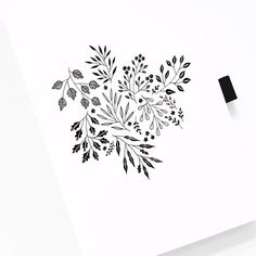 Floral Illustration And Doodle & Archer and Olive & Love this beautiful botanical illustration? I used my signature Dot Grid cm journals with dot grid pages that lay perfectly flat when opened, ideal for all bullet planners. Illustration Botanique, Illustration Blume, Floral Drawing, Flower Art Drawing, Botanical Line Drawing, Wreath Drawing, Botanical Drawings, Floral Doodle, Doodle Art Journals