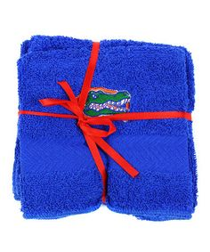 Take a look at this Florida Washcloth - Set of Six by Burton on #zulily today!