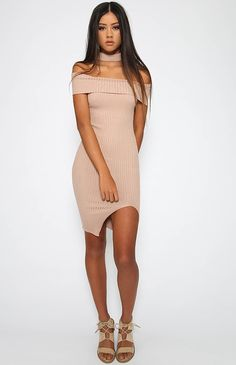 Jerry Dress - Beige from peppermayo.com