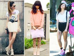 Fashion Bloggers High Top Sneakers