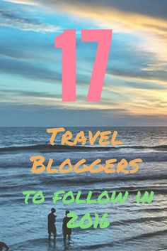 I have been wanting to write a post like this for a long time so I can share all my favorite travel blogs, ones that I read regularly and follow along on their social media accounts as well. These aren't necessarily the best or biggest name bloggers (although some are), but they are my favorites that keep me coming back to read more! What better time than the New Year to find some new travel inspiration?