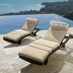 Optional Cushions with Headrest for Chaise Lounge chairs