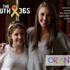17-year-old Taylor and 14-year-old cancer warrior Karli Leonard