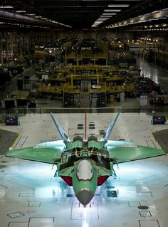 The last on the production line of the F-22 Raptor #4195.